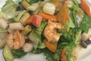 Shrimp with Mixed Vegetables - delivery menu
