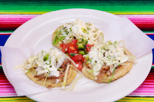 Sopes de Carnitas - delivery menu
