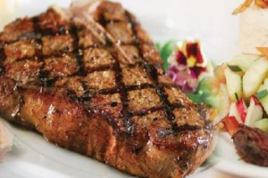 Grilled pork chops - delivery menu