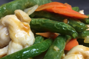 D19. Chicken with Green Beans Dinner - delivery menu