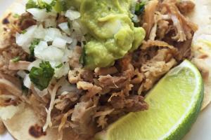 Carnitas Taco - delivery menu