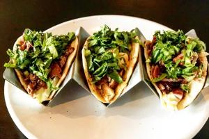 3 BBQ Tacos - delivery menu