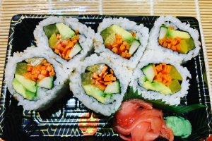 20. Vegetarian Roll - delivery menu