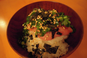 Mentaiko Rice - delivery menu