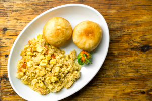 Ackee & Saltfish Breakfast - delivery menu