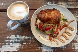 Croissant Sandwich - delivery menu