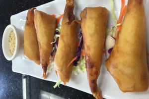 5 Piece Shrimp Rolls - delivery menu