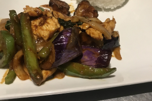 L18. Pad Eggplant Lunch Special - delivery menu