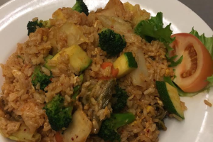 Spicy Kimchi Vegetable Fried Rice - delivery menu