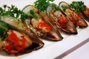 Baked Green Mussel - delivery menu