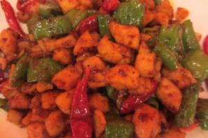 K2. Triple Pepper Chicken - delivery menu