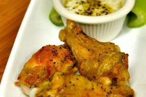 Lemon Pepper Wings - delivery menu