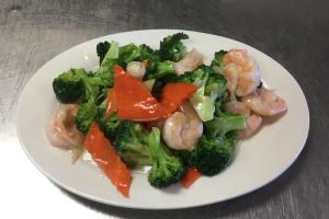 61. Shrimp with Broccoli - delivery menu