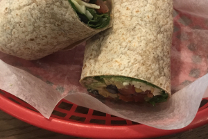 Avocado Chipotle Wrap  - delivery menu