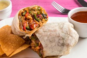 Fajita Burrito - delivery menu