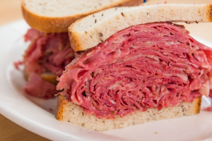 Hot Corned Beef Sandwich - delivery menu
