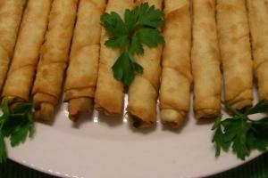 Turkish Vegetable Cigar - delivery menu
