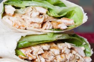 Caesar Wrap - delivery menu
