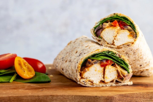 1. Mix Grill Chicken Wrap - delivery menu