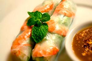 Shrimp Summer Rolls - delivery menu