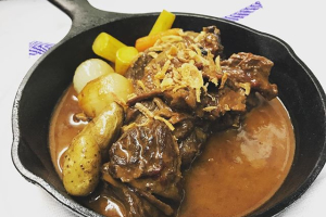 Lamb Massaman Plate - delivery menu