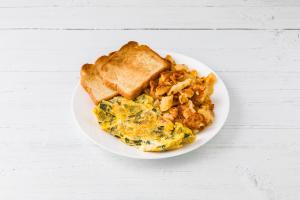 Vegetable Omelette - delivery menu