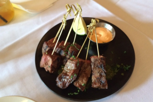 Steak Skewers Plate - delivery menu