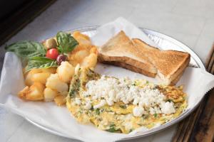 Florentine Omelet Platter - delivery menu