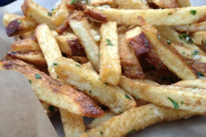 Homemade Garlic Fries - delivery menu