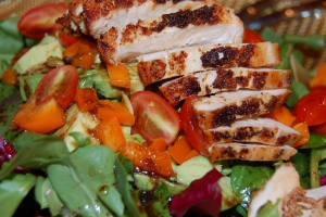 Fresh Mixed Green Salad - delivery menu