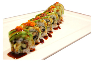 Dragon Roll - delivery menu