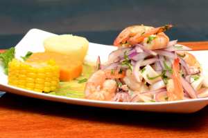 Ceviche Mixto - delivery menu