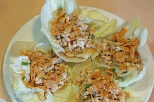 13. Four Chicken Lettuce Wraps - delivery menu