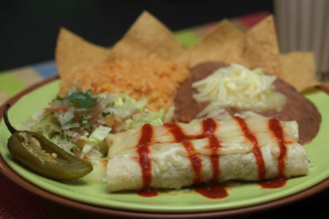 1. Beans and Cheese Burrito - delivery menu