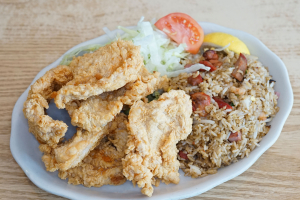 12. Boneless Chicken Crackling Combination - delivery menu