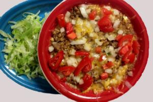 Burrito in a Bowl - delivery menu