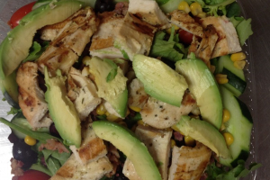 6. Cobb Salad - delivery menu