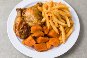 Baked Chicken with 2 Sides - delivery menu