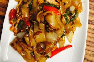 Pad Kee Mow Noodles - delivery menu