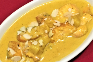 SALMON KORMA - delivery menu