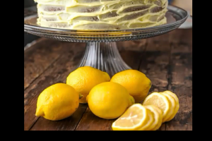 Lemon Cake Slice - delivery menu