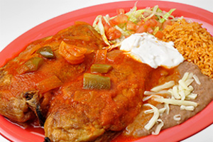 Chiles Rellenos  Dinner  - delivery menu