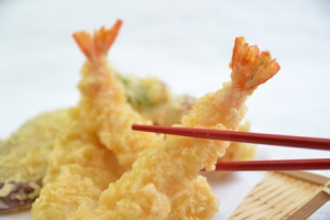 Shrimp Tempura app - delivery menu