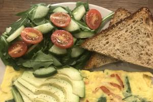 Custom 3 Egg Omelets - delivery menu