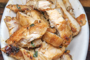 1/4 lb. Grilled Chicken Breast Brunch - delivery menu