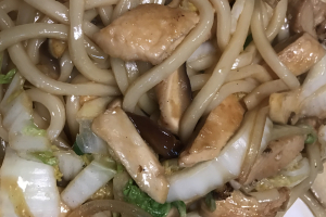 Pan-Fried Noodles with Pork - delivery menu
