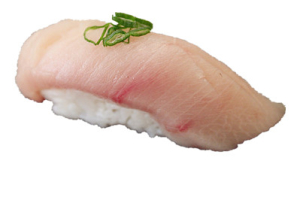 1 Piece Yellowtail - delivery menu