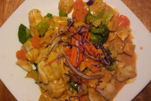 63. Peanut Sauce Noodles - delivery menu
