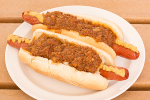 "Johnny Prince's All Natural Homemade Hot Dog Chili ""To Go"" - delivery menu"
