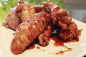 Three-Flavored Chicken Wings - delivery menu